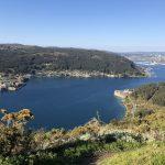 La vista sobre la Ría de Ferrol nos da una idea del lugar tan estratégico donde se colocaron las defensas.